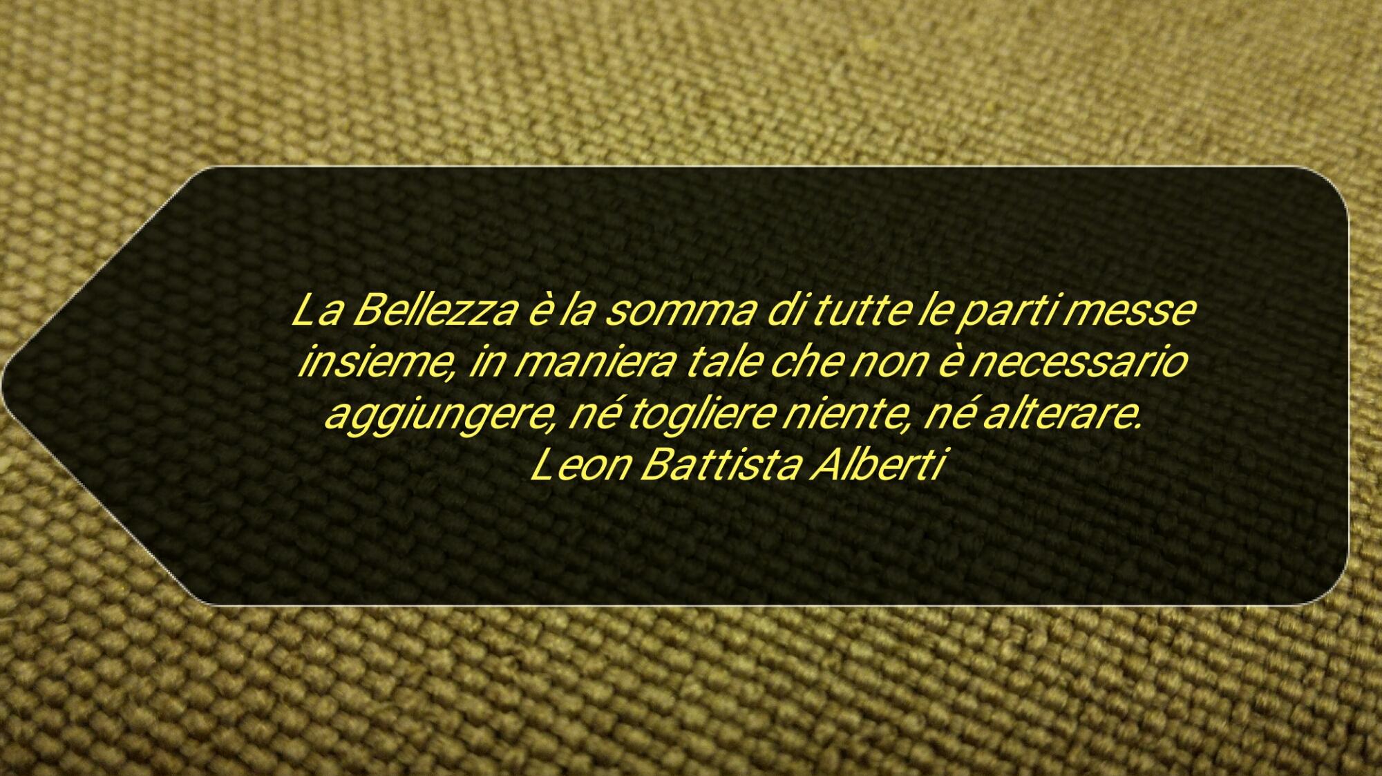 Alberti E La Bellezza Architettonica Architectural Beauty