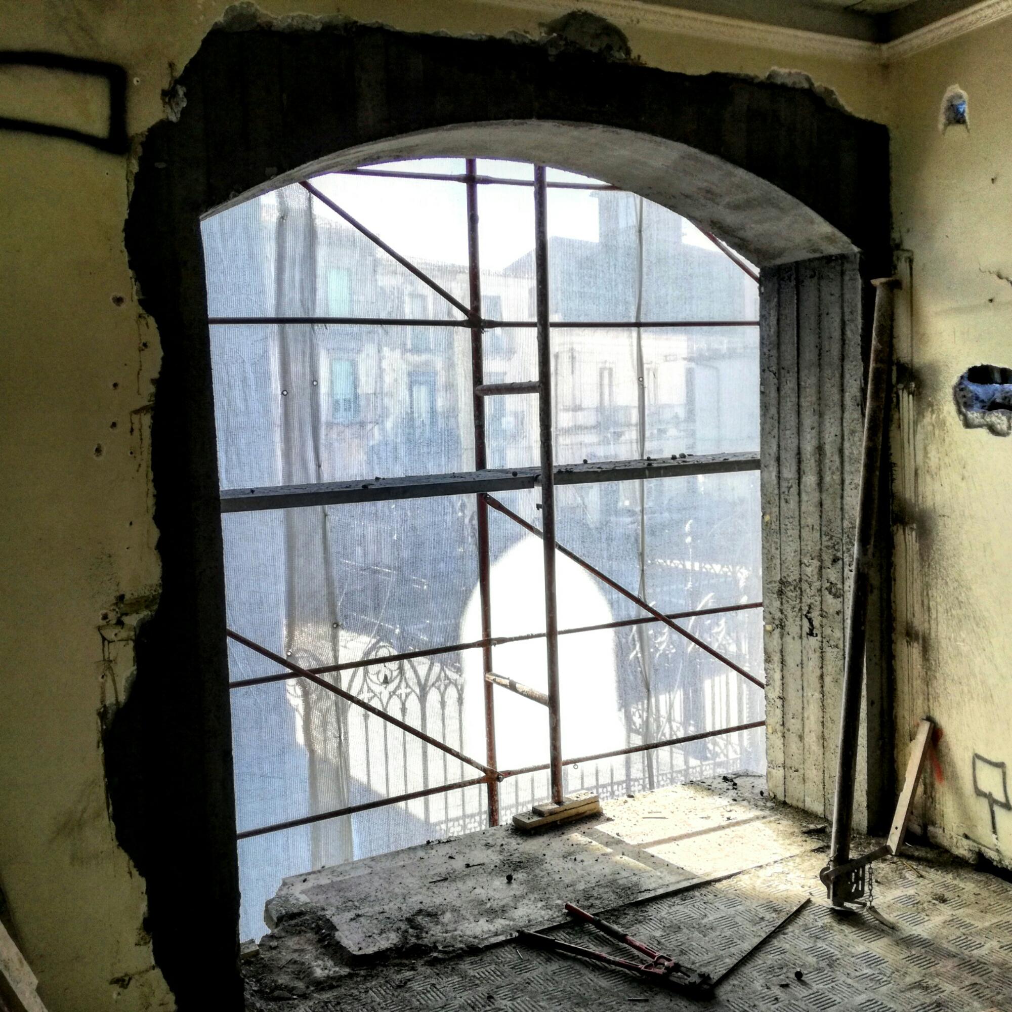 Cerchiatura porta ristrutturazione edilizia restauro - Architetto porta ...